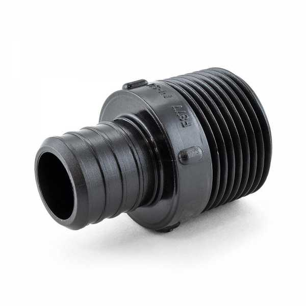 """1"""" PEX x 1"""" Male Threaded Adapter, Poly Alloy, Lead-Free"""