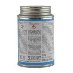 Wet-N-Dry Primerless PVC Cement w/ Dauber, Med-Body Very Fast-Set, Clear, 4oz