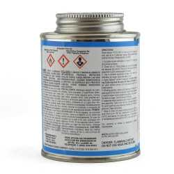 Wet-N-Dry Primerless PVC Cement w/ Dauber, Med-Body Very Fast-Set, Clear, 8oz
