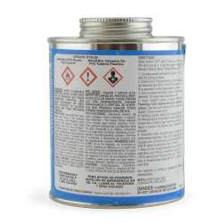 Wet-N-Dry Primerless PVC Cement w/ Dauber, Med-Body Very Fast-Set, Clear, 16oz
