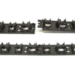 "PEX ""ALL"" Rails for PEX tubing sizes 3/8"", 1/2"", 5/8"" & 3/4"" (3.3ft long)"