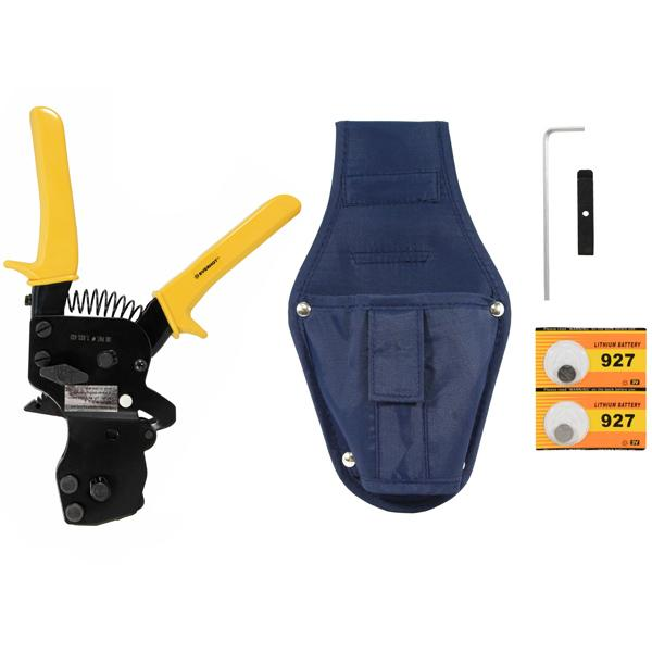 One-Hand PEX Clamp (Cinch) Tool w/ Holster, Heavy-Duty