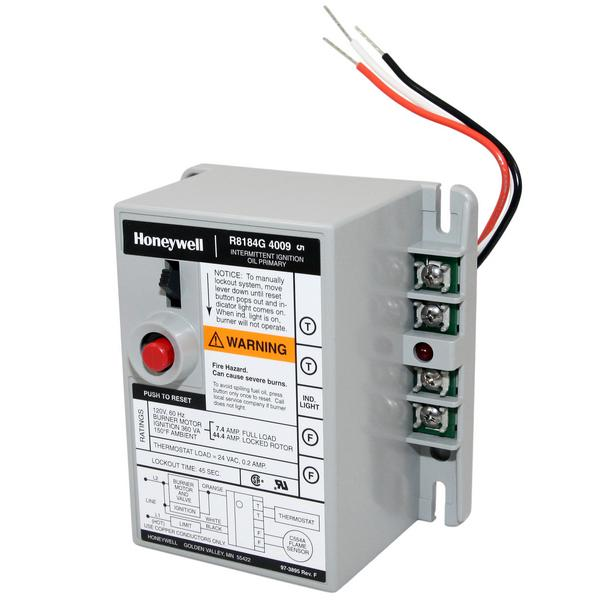 Honeywell R8184G4009 45 sec. Automatic Oil Control