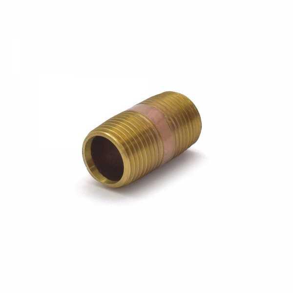 "Everhot RB-012X112 1/2"" x 1-1/2"" Brass Pipe Nipple"