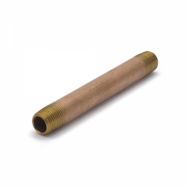 "1/8"" x 3"" Brass Pipe Nipple"
