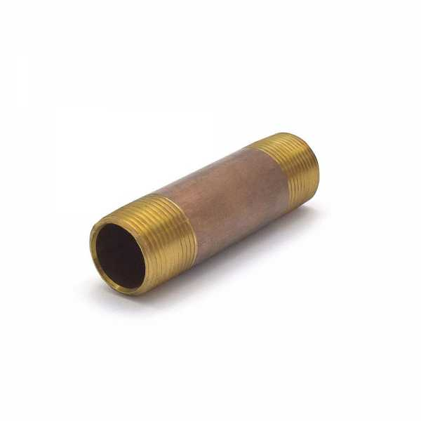 "3/4"" x 3-1/2"" Brass Pipe Nipple"
