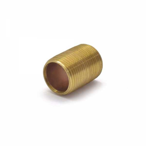"3/4"" x Close Brass Pipe Nipple"