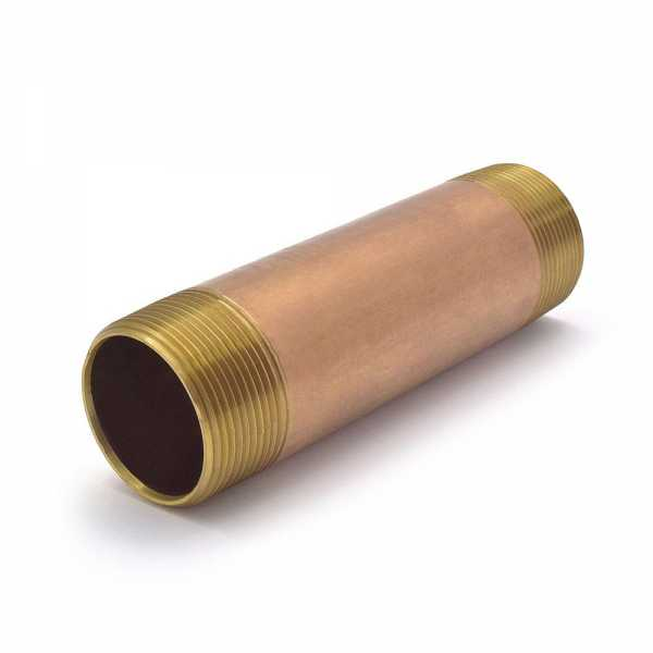 "1-1/2"" x 6"" Brass Pipe Nipple"