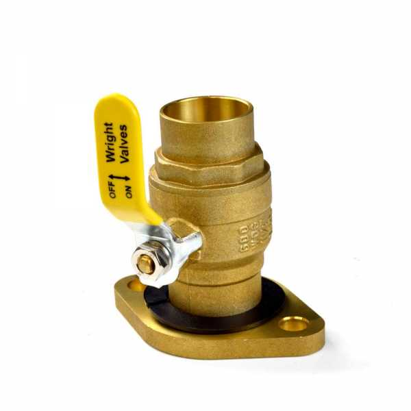 "1-1/4"" SWT Isolator Valve w/ Rotating Flange"