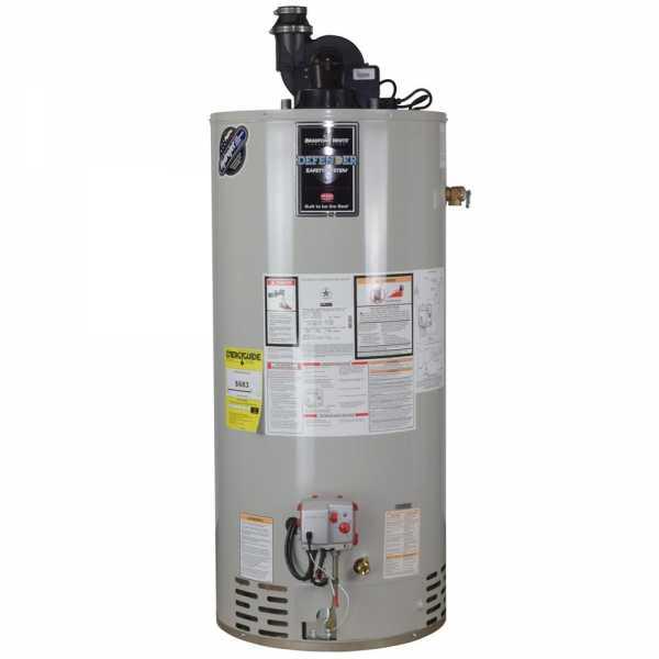 50 Gal, TTW Defender Power Vent Water Heater (NG), 6-Yr Wrty