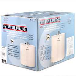 Stiebel Eltron SHC 6, Mini-Tank Electric Water Heater, 120V Plug-in, 6.0 gal.