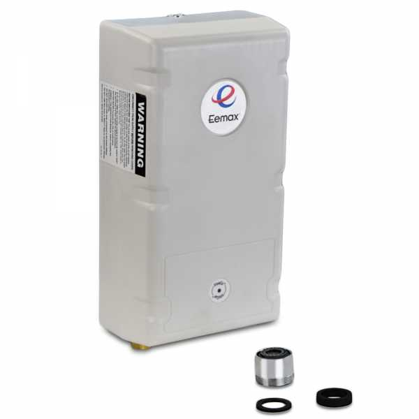 EeMax SPEX3512, FlowCo Point-of-Use Electric Tankless Water Heater, 3.5 kW, 120V