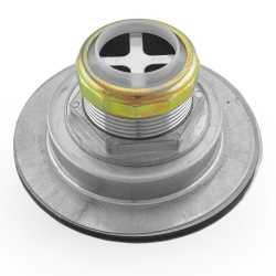 St. Steel Kitchen Sink Duo Cup Flat Top Drain Strainer