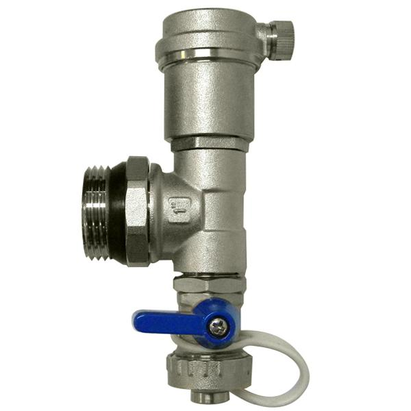 Manifold End Piece Set w/ Drain and Vent