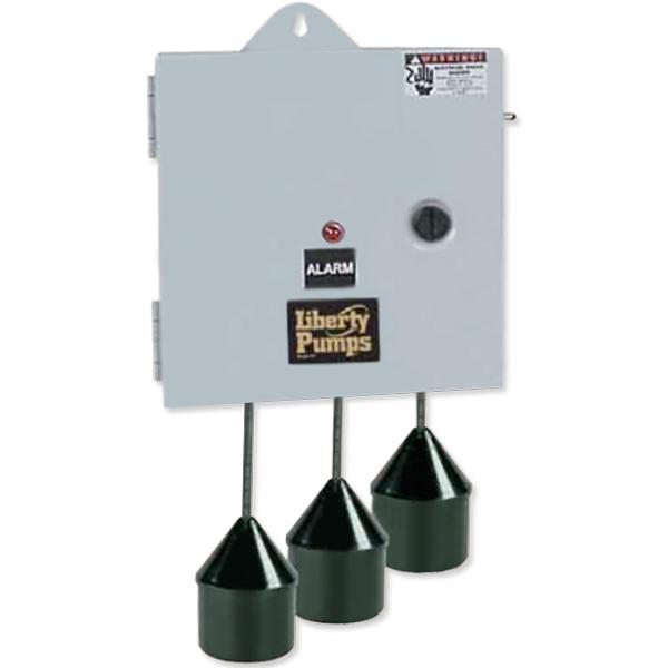 Simplex Control Panel, 120/208/240V, 1-Phase, NEMA 1, 0-14.9A