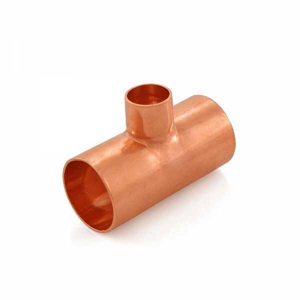 "1"" x 1"" x 1/2"" Copper Tee"
