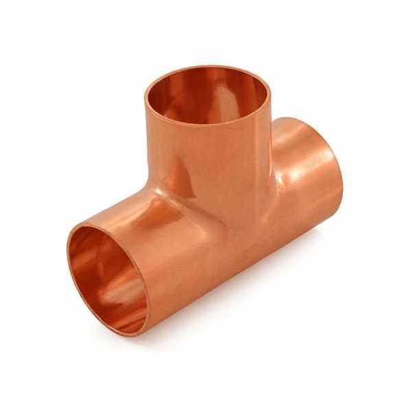 "1-1/4"" Copper Tee"