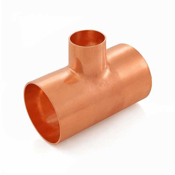 "2"" x 2"" x 1"" Copper Tee"