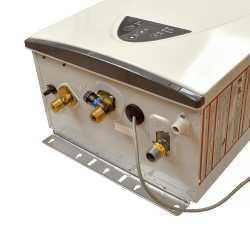 Indoor Tankless Water Heater, Natural Gas, 199K BTU