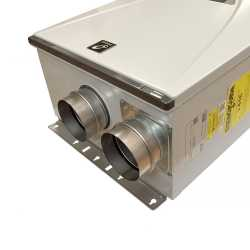 Indoor Tankless Water Heater, Natural Gas, 160K BTU