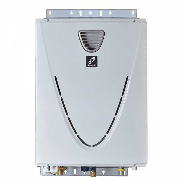 Outdoor Tankless Water Heater, Natural Gas, 160K BTU
