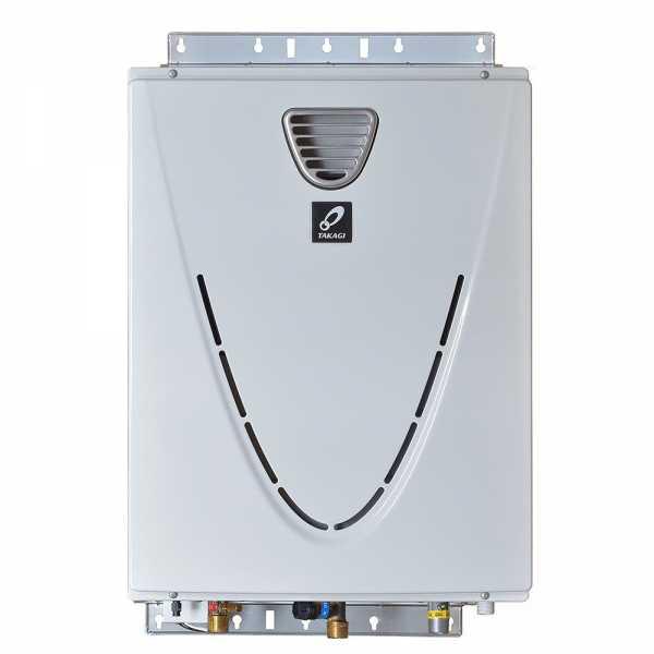 Outdoor Tankless Water Heater, Natural Gas, 180K BTU