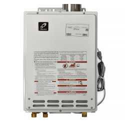 Indoor Tankless Water Heater, Natural Gas, 140K BTU