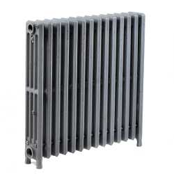 "14-Section, 4"" x 25"" Cast Iron Radiator, Free-Standing, Slenderized/Tube style"