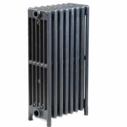 "8-Section, 6"" x 25"" Cast Iron Radiator, Free-Standing, Slenderized/Tube style"