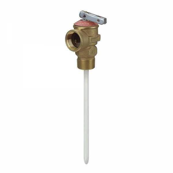 "3/4"" Temperature & Pressure Relief Valve w/ 8"" probe"