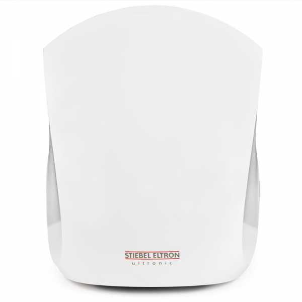 Stiebel Eltron Ultronic 2 W, High-Speed Touchless Automatic Hand Dryer, 1000/775W, 240/208V (White)