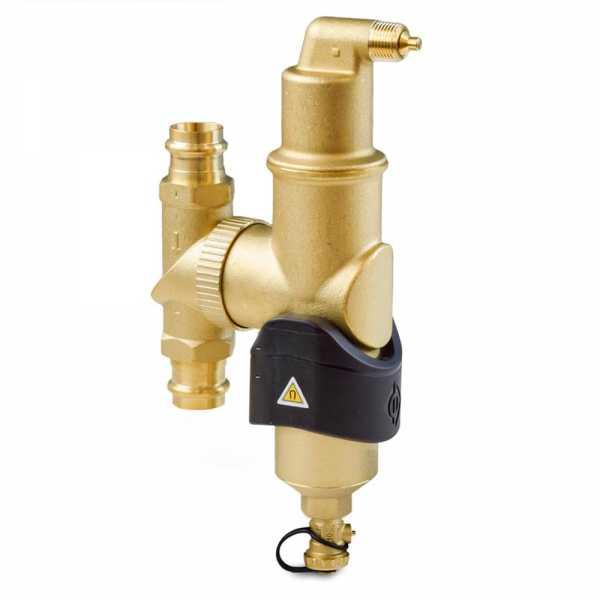 """3/4"""" Press, Spirocombi Vertical Air & Dirt Magnetic Separator"""