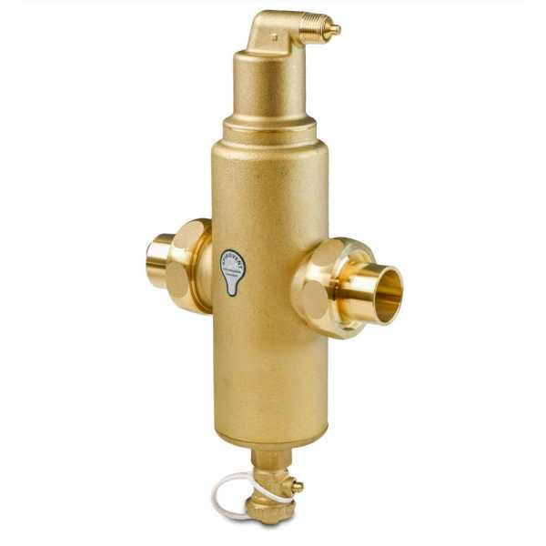 "1-1/4"" Union Sweat, Spirovent Jr Air & Dirt Separator Combi"