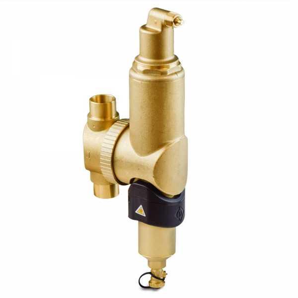 """1-1/4"""" Sweat, Spirocombi Vertical Air & Dirt Magnetic Separator"""
