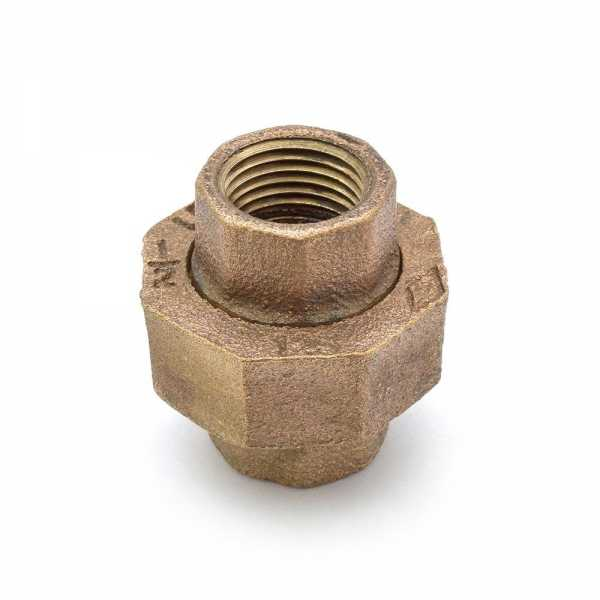 """1/2"""" FPT Brass Union, Lead-Free"""