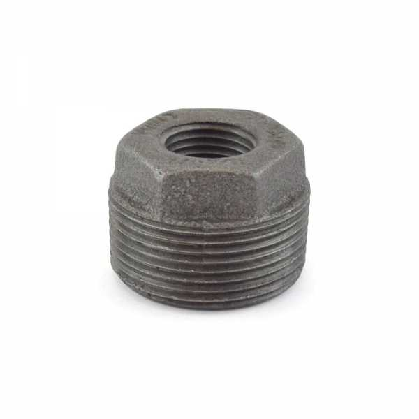 "1-1/4"" x 1/2"" Black Bushing"