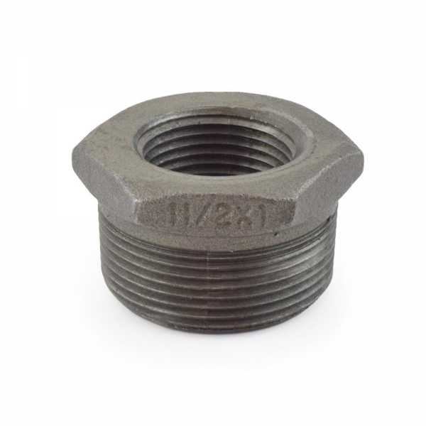 "1-1/2"" x 1"" Black Bushing"