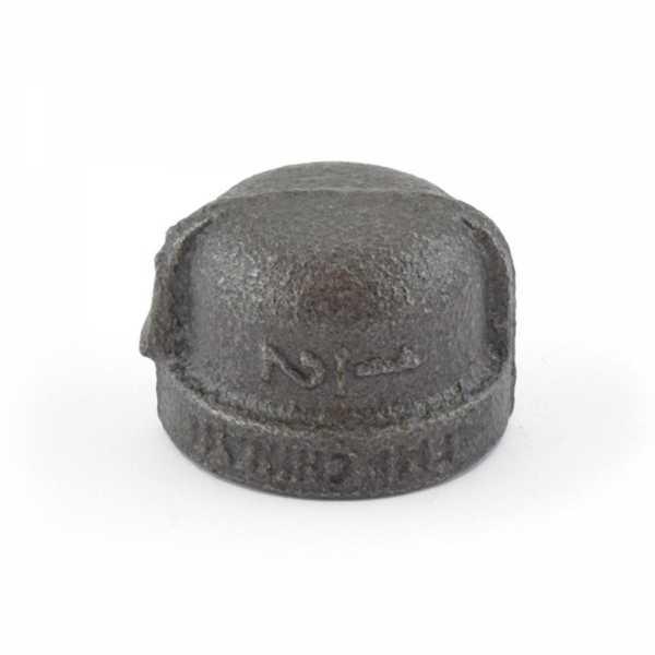 """1/2"""" Black Cap"""