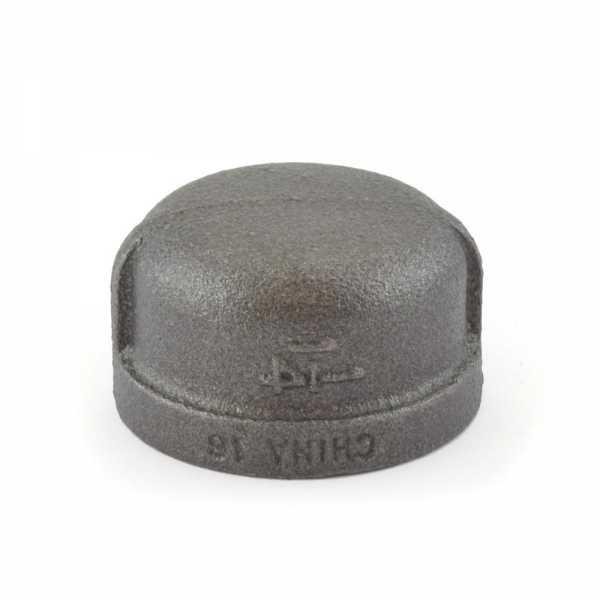 """1-1/2"""" Black Cap"""