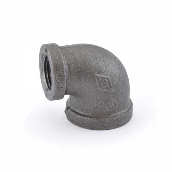 "1/2"" x 1/4"" Black 90° Elbow"
