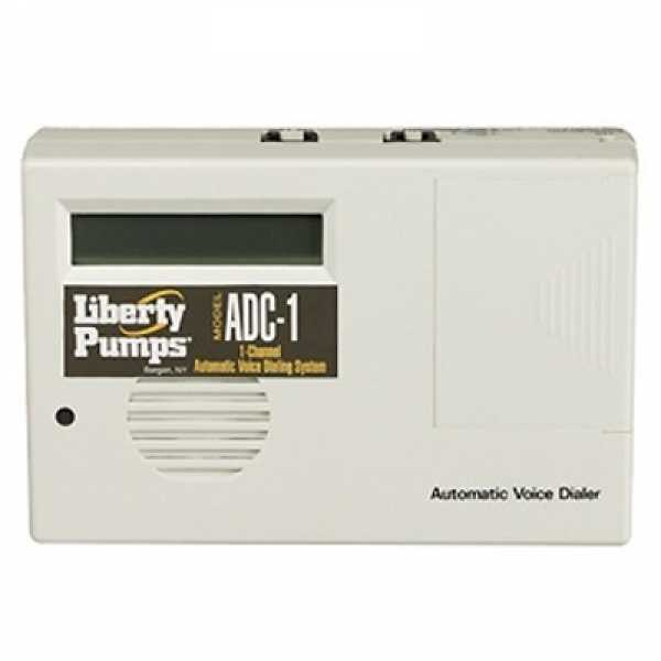 Liberty Pumps ADC-1, Auto Dialer for Control Panels and High Liquid Level Alarms