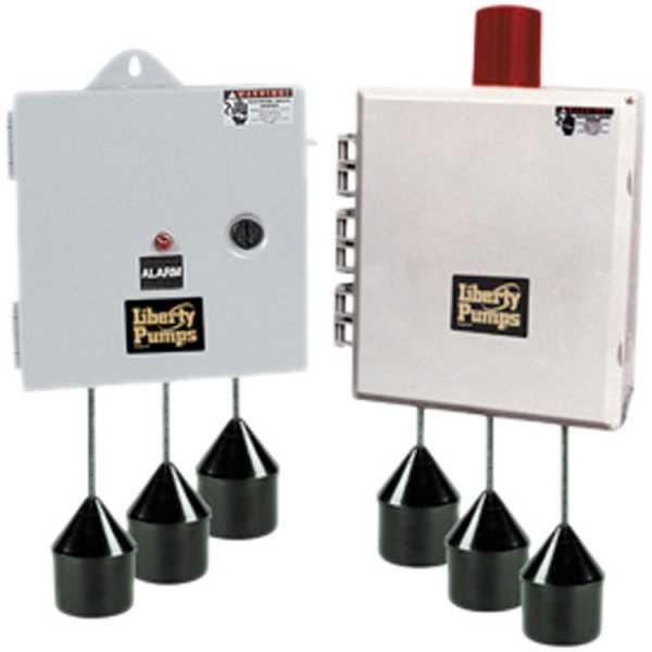AE Series Duplex Control Panel 115/230V, NEMA 1, 1 Phase, 15 - 20 amps (4 Floats)