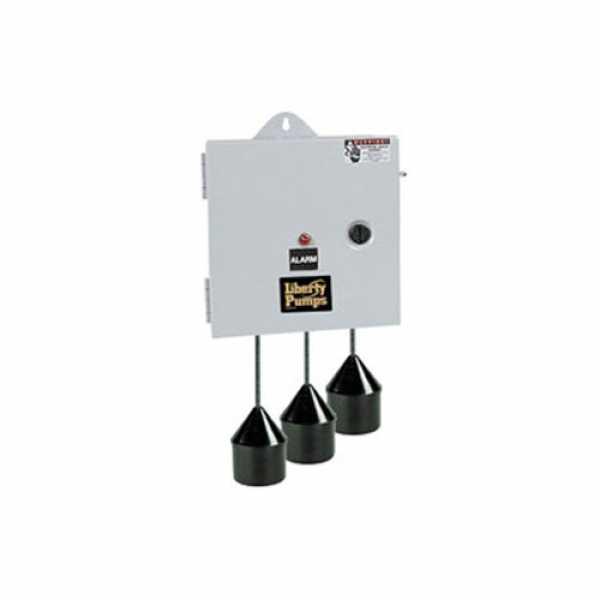Duplex Pump Control with Alarm, NEMA 1 Enclosure (w/ 4 Floats)