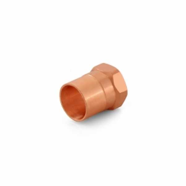 "1/2"" Copper x 3/8"" Female Threaded Adapter"