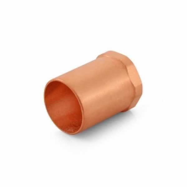 "1"" Copper x 1/2"" Female Threaded Adapter"