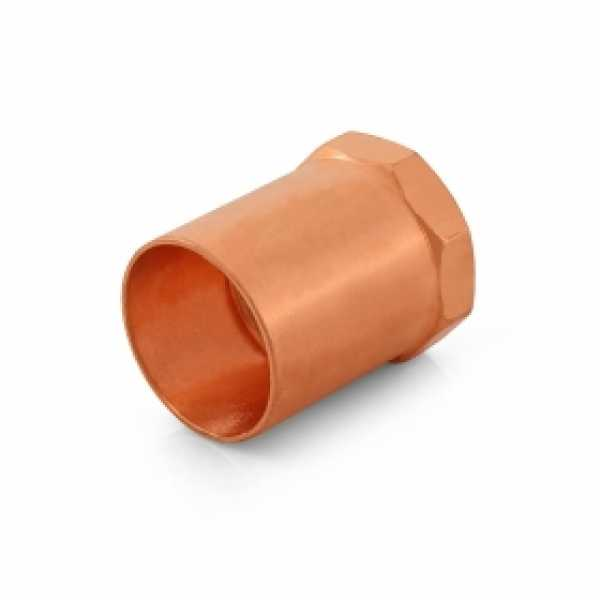 "1-1/4"" Copper x 1"" Female Threaded Adapter"