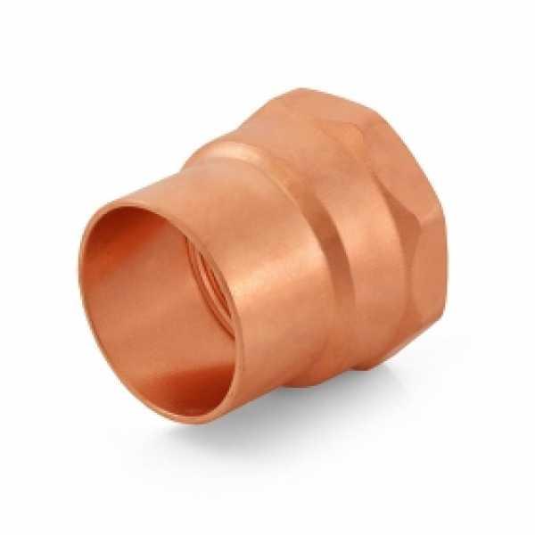 "1-1/2"" Copper x Female Threaded Adapter"