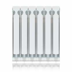 "Aluminum Heating Radiator, 22"" x 38"" x 3"", 12-Section, Bimetal"