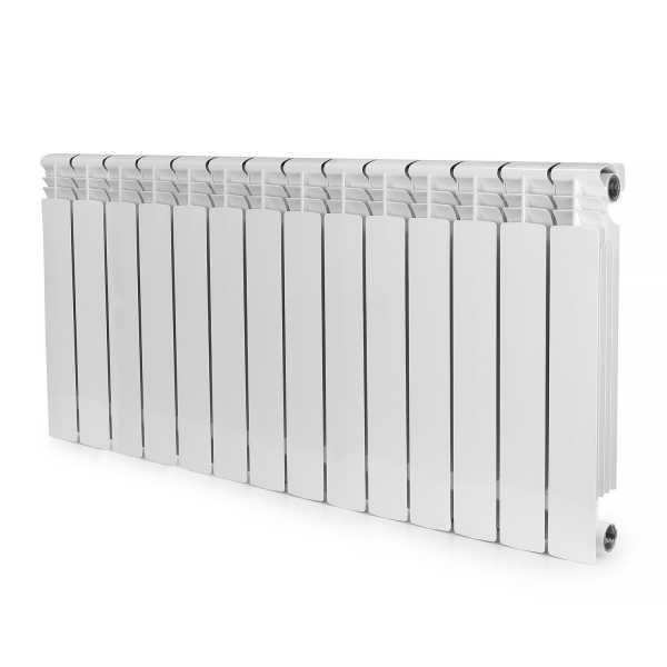 "Aluminum Heating Radiator, 22"" x 44"" x 3"", 14-Section, Bimetal"