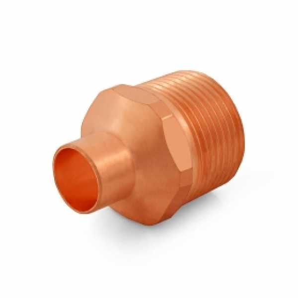 "1/2"" Copper x 1"" Male Threaded Adapter"